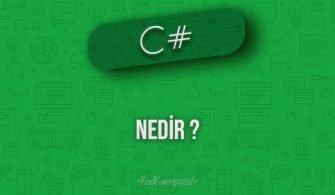 C# nedir ?