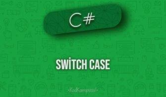 C# switch case