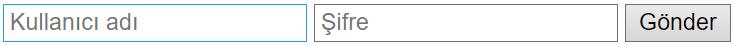 HTML Form Etiketi