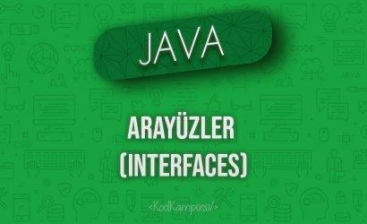 Java'da Arayüzler (Interfaces)