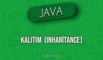 Java'da Kalıtım (Inheritance)