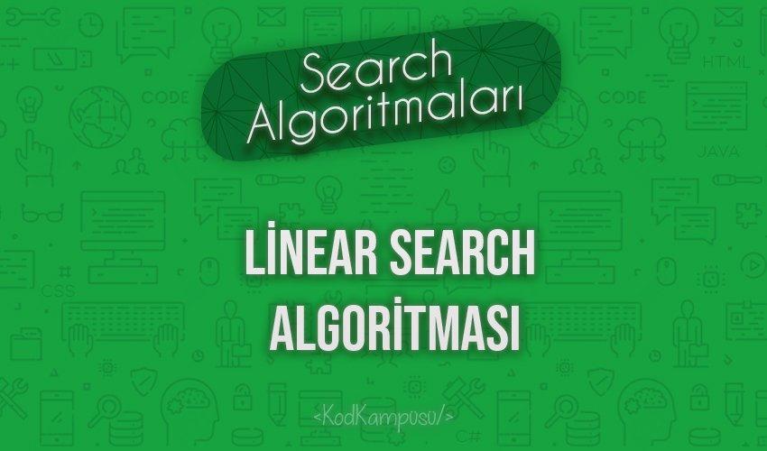 Linear Search Algoritması