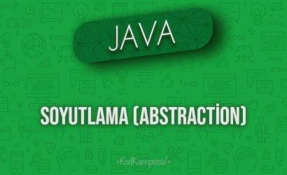 Java'da Soyutlama (Abstraction)