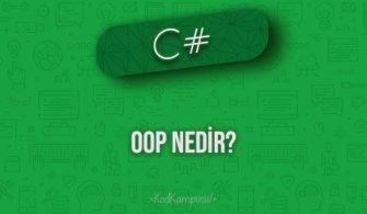 C# OOP Nedir?