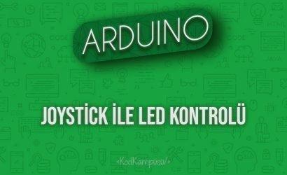 Arduino Joystick ile LED Kontrolü