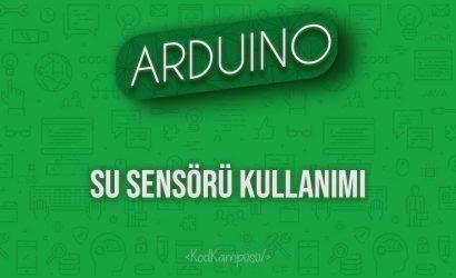 Arduino Su Sensörü Kullanımı