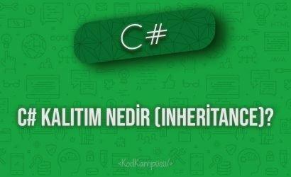 C# Kalıtım Nedir (Inheritance)