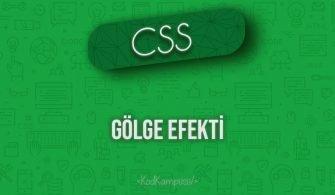 CSS Gölge Efekti