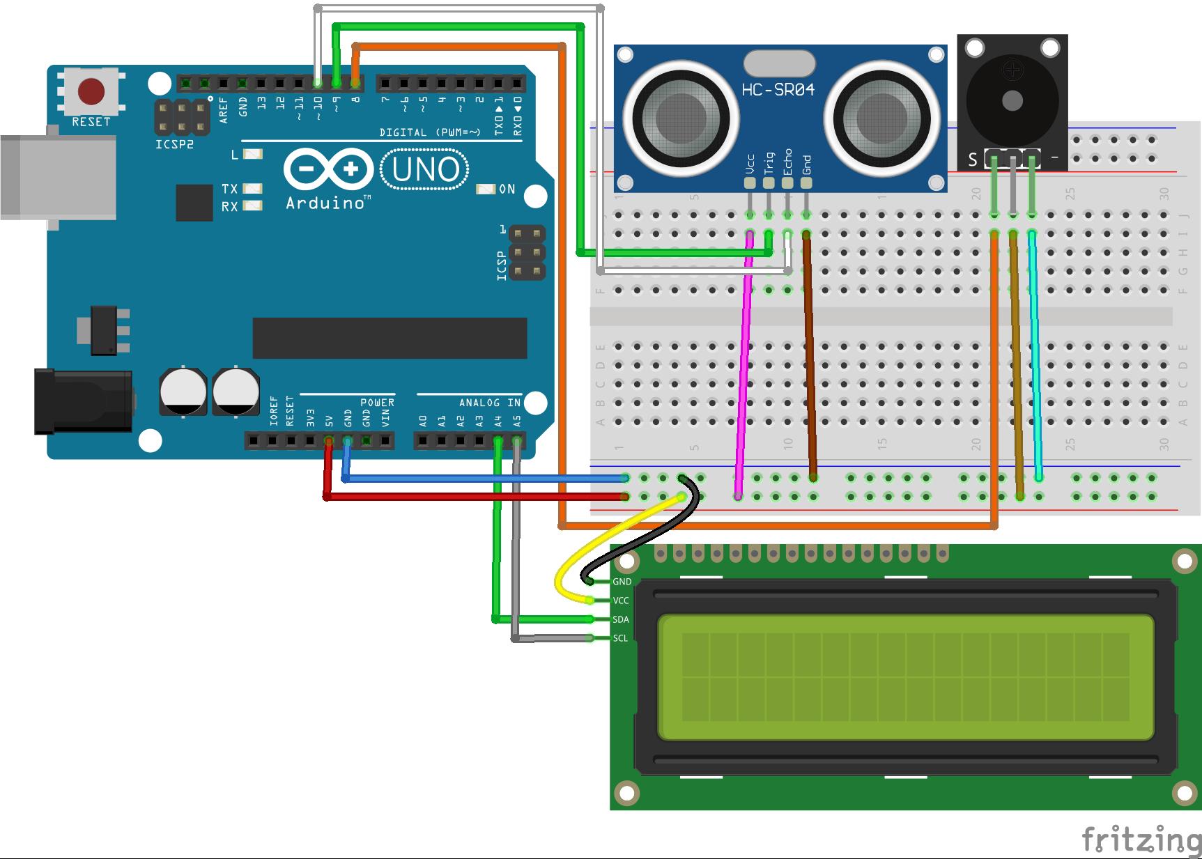 Arduino HC-SR04 ile Mesafe Ölçme