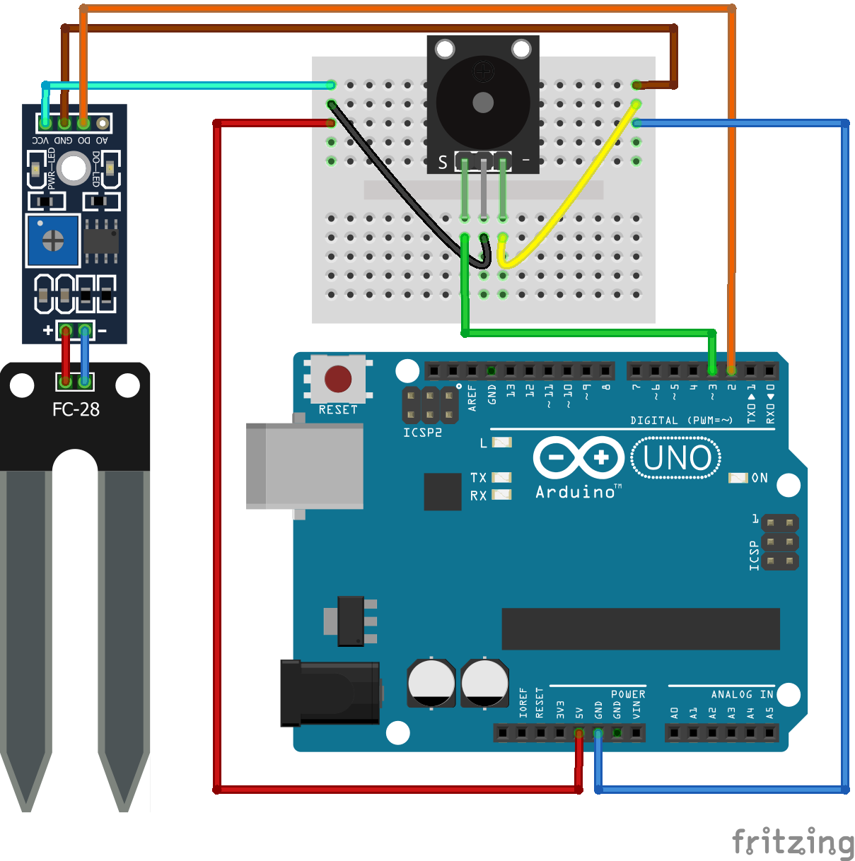Arduino Toprak Nemi Algılama